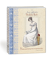 Jane Austen : Birthday book - Håll ordning på födelsedagarna!