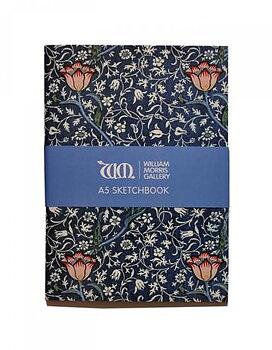 William Morris : Medway Sketchbook - A5 Skissbok med 150 gramspapper