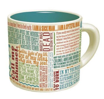 First lines of literature : Mug