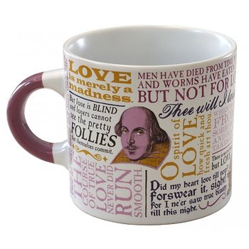 William Shakespeare : Love  Quotations Mug