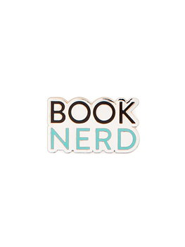 Book nerd : Enamel Pin