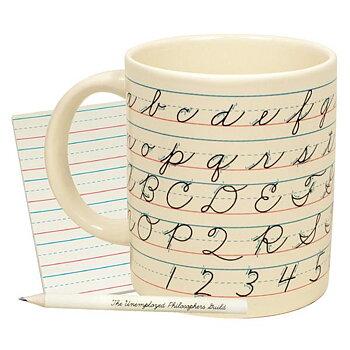 Lost Art of Penmanship Mug - Mugg med skrivstilskonst