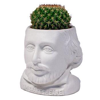 William Shakespeare : Planter - pennställ/blomkruka/godisskål