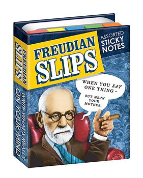 Freudian Slips : Sticky Note Book