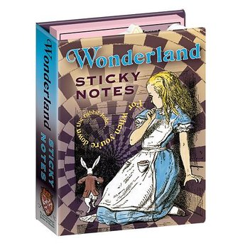 Alice in Wonderland : Sticky Note Book