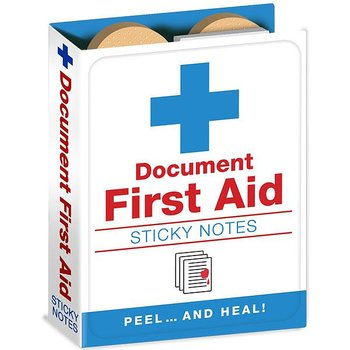 Document First Aid : Sticky Note Book