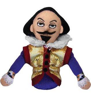 Shakespeare Magnetic Personality - Fingerdocka och kylskåpsmagnet