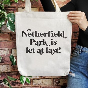 Jane Austen : Netherfield Park is let at last! - tygväska