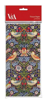William Morris : Strawberry Thief - Silkepapper