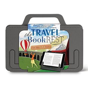 The Travel Book Rest : Ihopfällbart bokstöd för boken och ipaden - Grå