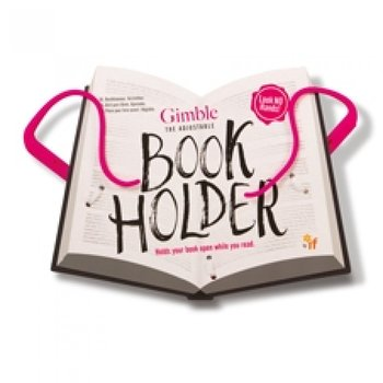 The Gimble : Adjustable Book Holder -  Smart och flexibel sidhållare - Tickled Pink