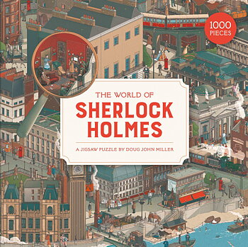 The world of Sherlock Holmes : Pussel 1000 bitar