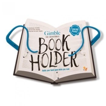 The Gimble : Adjustable Book Holder -  Smart och flexibel sidhållare - True Blue