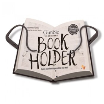 The Gimble : Adjustable Book Holder -  Smart och flexibel sidhållare - Urban Grey