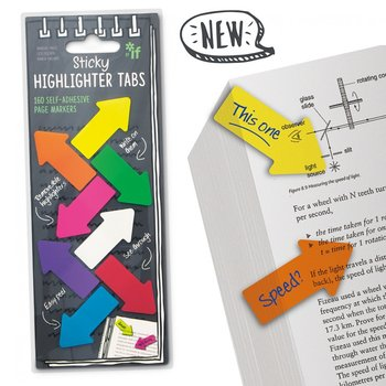 Sticky Highlighter Tabs : Sticky Notes för flyttbar markering i texten
