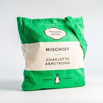 Charlotte Armstrong : Mischief - Penguin Tote bag
