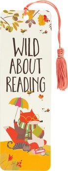 Wild about reading : bokmärke med tofs