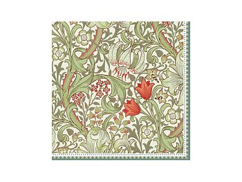 William Morris : Golden Lily - Lunchservett 33x33 cm 20-pack