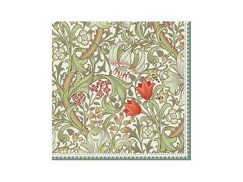 William Morris : Golden Lily - Lunchservett 33x33 cm 20-pack