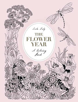 The flower year : A coloring book