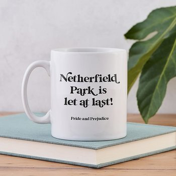 Jane Austen : Netherfield Park is let at last! mug - Mugg 30 cl
