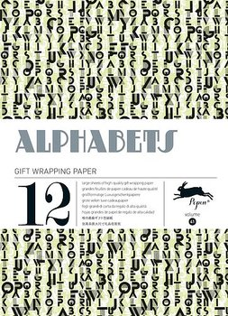 Alphabets : Gift & Creative Paper Book - Presentpappersbok