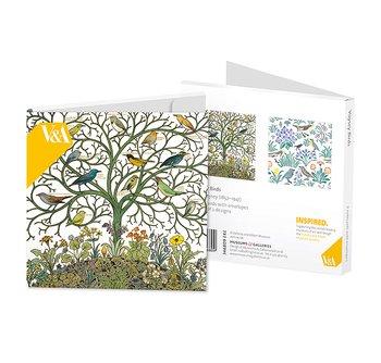 V&A : Voysey Birds - Kortask med 8 kort och kuvert