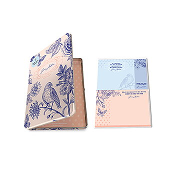 Jane Austen : Sticky Note Tin Set - tre block i plåtask
