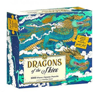 Pussel 1000 bitar : Dragons of the skies