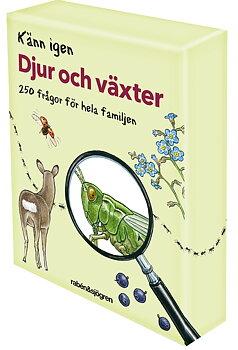Björn Bergenholtz : Känn igen djur och växter - Frågespel med 250 frågor för hela familjen