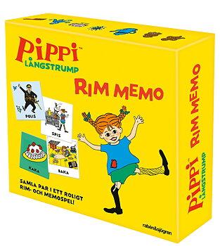Astrid Lindgren : Pippi Långstrump Rim-Memo