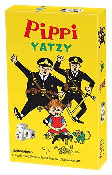 Astrid Lindgren : Pippi Långstrump Bild-Yatzy