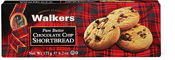 Walkers : Chocolate Chip Shortbread - 175 g