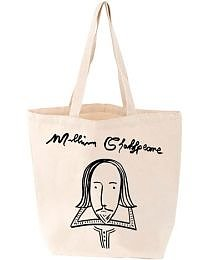 Love Lit : William Shakespeare Tote bag