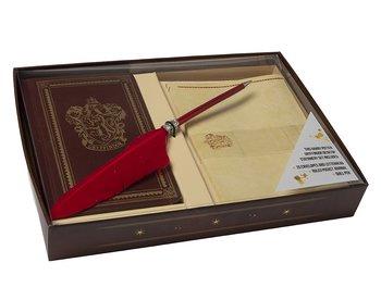Harry Potter :  Gryffindor Desktop Stationery set - Skrivbordsset med skrivbok, brevpapper och penna