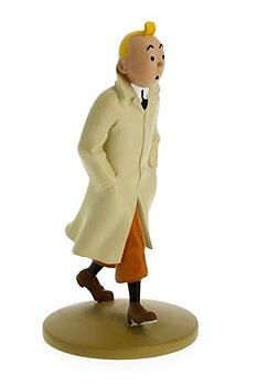 Tintin :  Statyett 12 cm - Tintin i trenchcoat