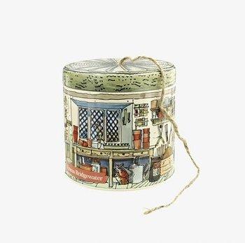 Växthus : Potting - Plåtburk med snöre
