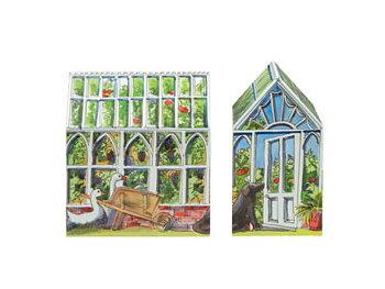 Växthus : Plåtburk med lock