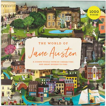 The World of Jane Austen : Pussel 1000 bitar