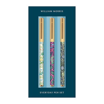 William Morris :  Everyday Pen set - Set med tre pennor