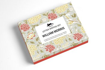 William Morris : Letter Writing Set - Fin presentask med 40 brevpapper med matchande kuvert och stickers