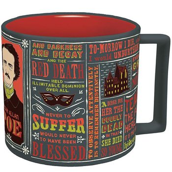 Edgar Allan Poe : Literary Quotes Mug