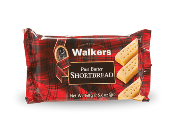 Walkers : Pure Butter Shortbread  - 160 g