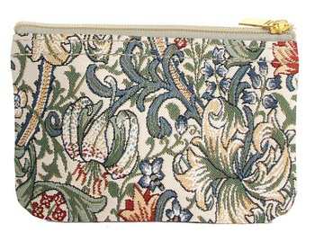 William Morris : Golden Lily Zip Coin Purse - Börs