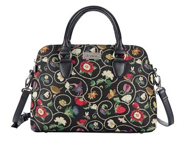 "Jacobean Dream :  Triple Compartment Bag  - ""Mary Poppinsväska"" större"