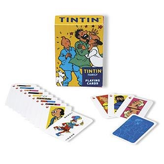 Tintin :  Spelkort - Karaktärer