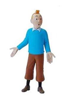 Tintin :  Plastfigur - Tintin Blå jumper