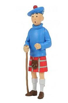 Tintin :  Plastfigur - Tintin i kilt