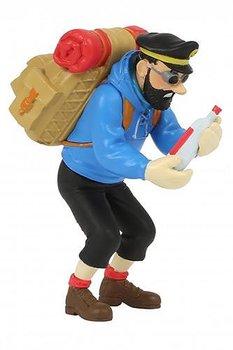 Tintin :  Plastfigur - Kapten Haddock med tom flaska