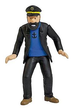Tintin :  Plastfigur - Kapten Haddock